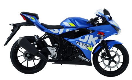 suzuki gsx-r150 blue backbone motorcycle philippines
