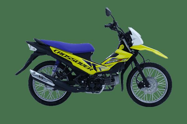 suzuki raider j crossover underbone motorcycle philippines yellow