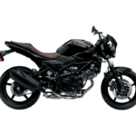 suzuki sv 650x big bike glass sparkle black fi motorcycle
