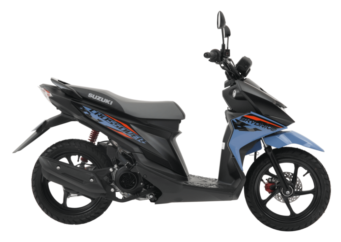 latest suzuki skydrive crossover motorcycle philippines