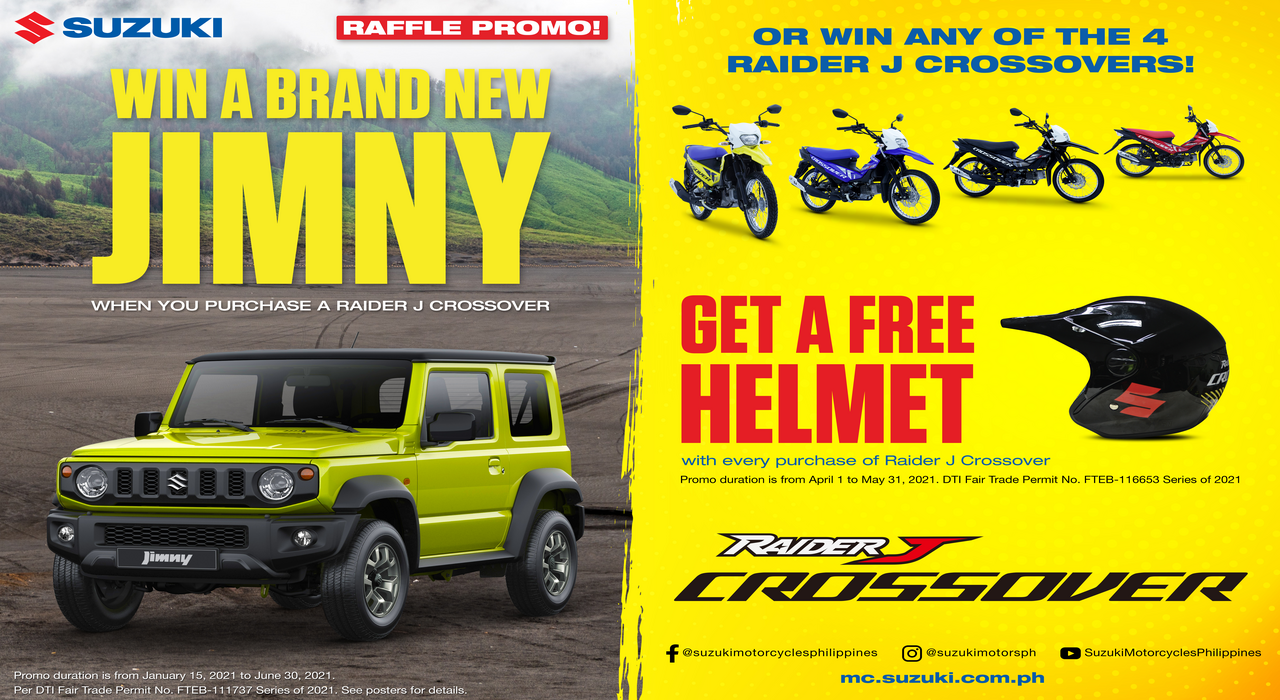 how to win suzuki motorcycles in the philippines raider j crossover