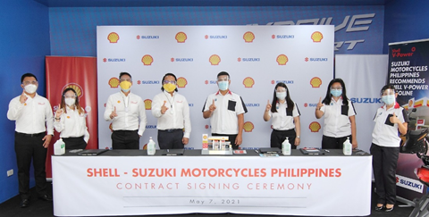Shell Suzuki Motorcycles Philippines Contract Signing Ceremony